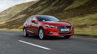 The Mazda3 is the Japanese company's answer to the Ford Focus and Peugeot 308