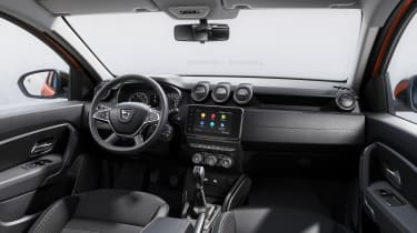 2021 Dacia Duster SUV - dashboard