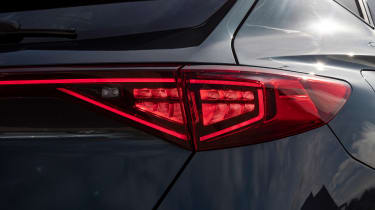 Cupra Formentor SUV review rear lights
