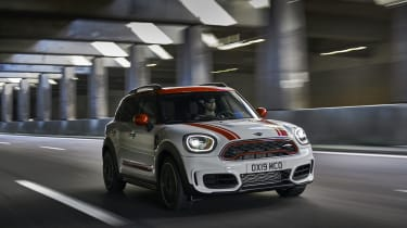 MINI John Cooper Works Countryman - front view