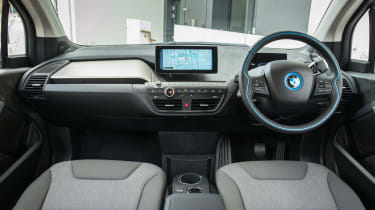 Clever production methods means BMW can build the i3 in a reasonably environmentally-friendly way
