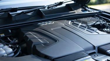 Audi Q7 SUV engine bay