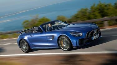 Mercedes-AMG GT R Roadster side action