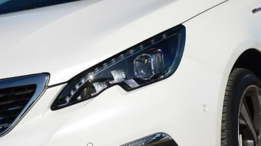GT Line models are fitted with all-LED headlights for better visibility at night