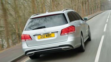 Mercedes E-Class estate rear