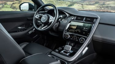Jaguar E-Pace SUV review interior
