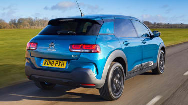 Whilst toned down, it follows the usual Citroen's quirky designs.