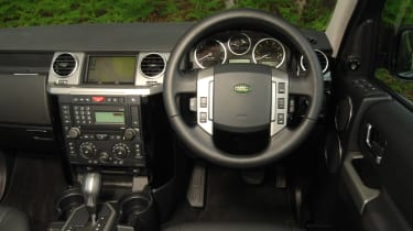 used land rover discovery interior
