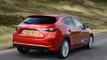 The Mazda3 comes with plenty of standard equipment, and is smooth and quiet on the open road.