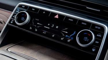 Genesis GV80 SUV controls