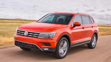 Made for the American market, the Volkswagen Tiguan Allspace is longer than the standard model.