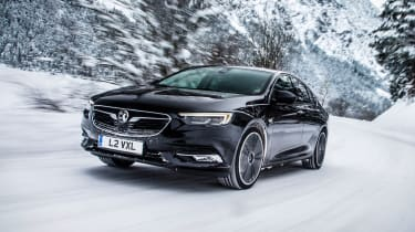 The Insignia Grand Sport will feature a remote control heater to warm the car on your driveway