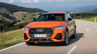 Audi Q3 Sportback SUV front tracking