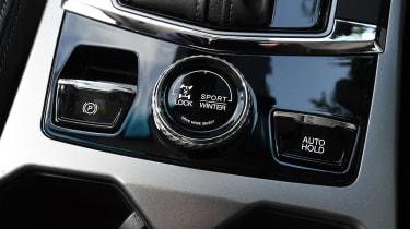 SsangYong Korando SUV dashboard