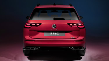 2020 Volkswagen Golf Estate R-Line rear end