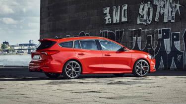 2019 Ford Focus ST estate - rear quarter static