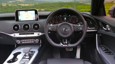 Kia Stinger GT-S interior