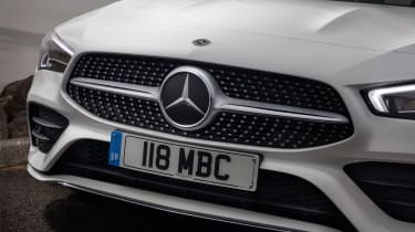 Mercedes CLA saloon grille