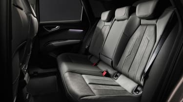 2021 Audi Q4 e-tron SUV rear seats