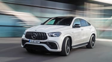 2020 Mercedes-AMG GLE 63 S Coupe front driving