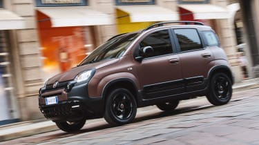 New Fiat Panda Trussardi limited edition - Front 3/4 dynamic