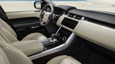 Range Rover Sport HSE Silver interior