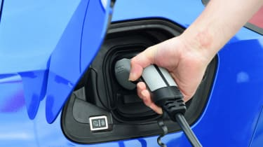 Vauxhall Corsa-e hatchback charging port