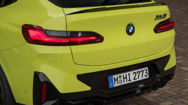 2021 BMW X4 M - rear quarter