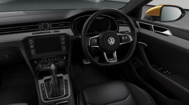 Volkswagen Arteon 268bhp interior