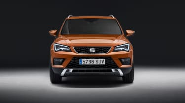 ...But the sharp, angular design is pure SEAT and very reminiscent of the Leon hatch