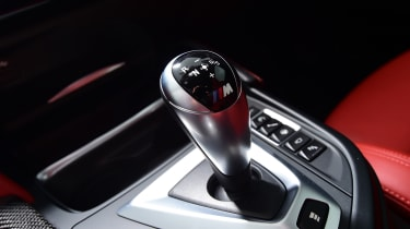 BMW M4 Coupe gear selector