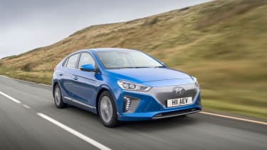 The Hyundai Ioniq is available as an EV, as well as a hybrid and plug-in hybrid