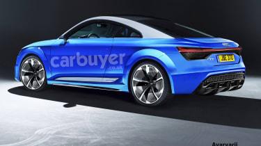 Audi TT EV - rear