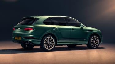 2020 Bentley Bentayga SUV - rear 3/4 studio