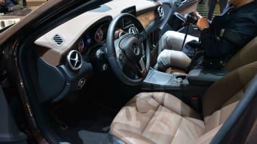 Mercedes GLA SUV 2014 interior