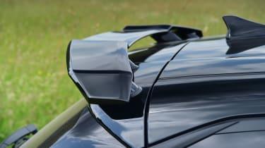 Hyundai i20 N hatchback rear wing