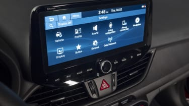 2020 Hyundai i30 touchscreen