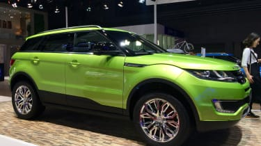 The Landwind X7 is possibly the most contentious example of a European design 'influencing' a Chinese company