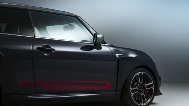 MINI John Cooper Works GP - side front view