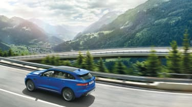 Most models are fitted with an eight-speed automatic gearbox, although a manual is offered in certain models