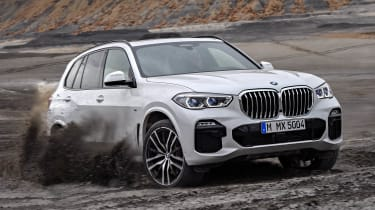 BMW X5 off-road dirt