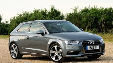 It's also available as a five-door A3 Sportback, four-door A3 Saloon and drop-top A3 Cabriolet