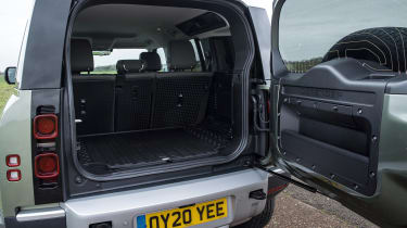 Land Rover Defender SUV boot