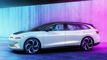 Volkswagen ID. Space Vizzion concept side view - static