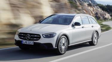 Mercedes E-Class All-Terrain driving