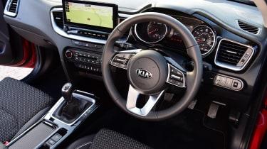 Kia XCeed hatchback steering wheel