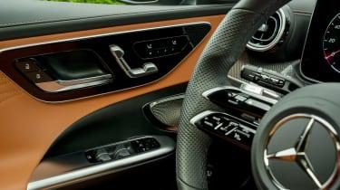 Mercedes C-Class saloon steering wheel controls