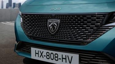 2021 Peugeot 308 SW estate - front grille