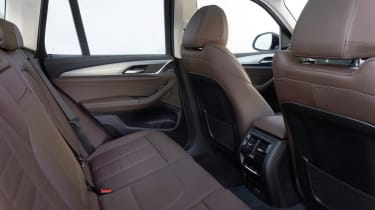 BMW iX3 SUV rear seats