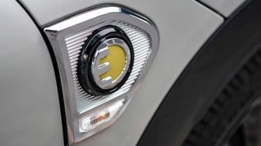 MINI Countryman Plug-in Hybrid charging flap